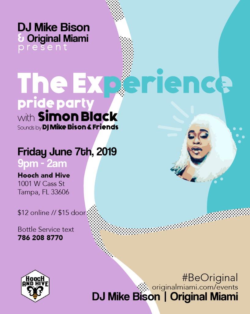 The Experience Pride Party w/ Simon Black