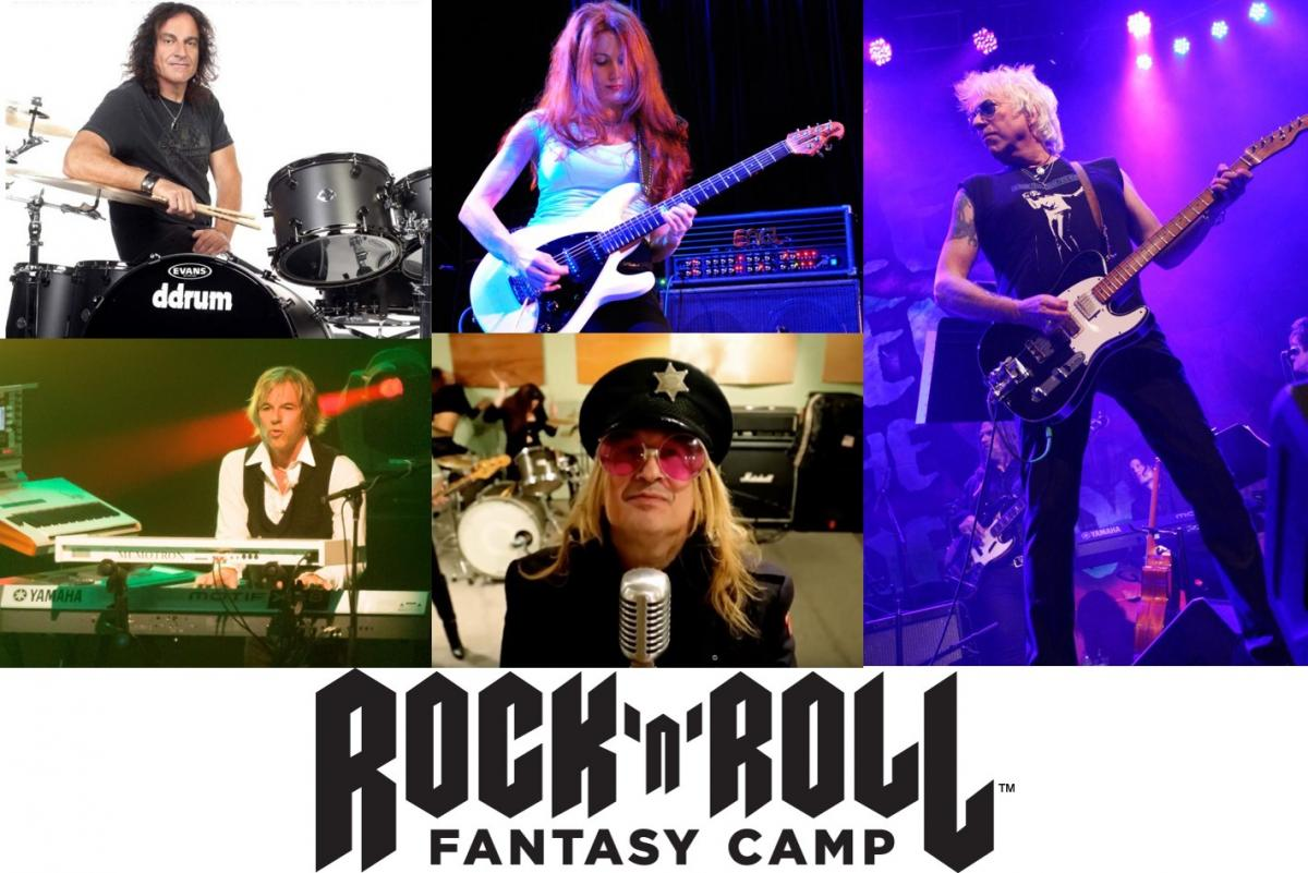 Rock 'n' Roll Fantasy Camp Free Concert at Margaritaville Hollywood Beach Resort