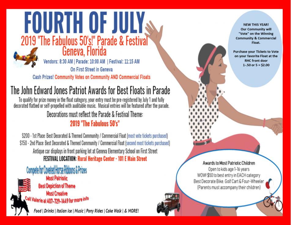Geneva 4th of July Parade & Festival