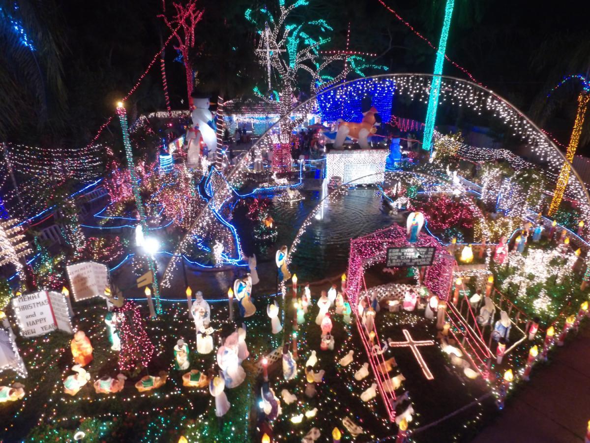 Oakdale Christmas Light Display, St Petersburg & Clearwater FL - Nov ...