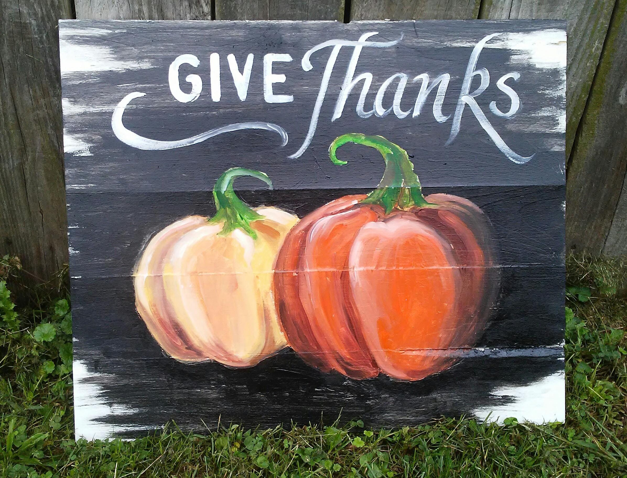 Pallet Sign Party: Giving Thanks, Toledo OH - Nov 15, 2018 ...