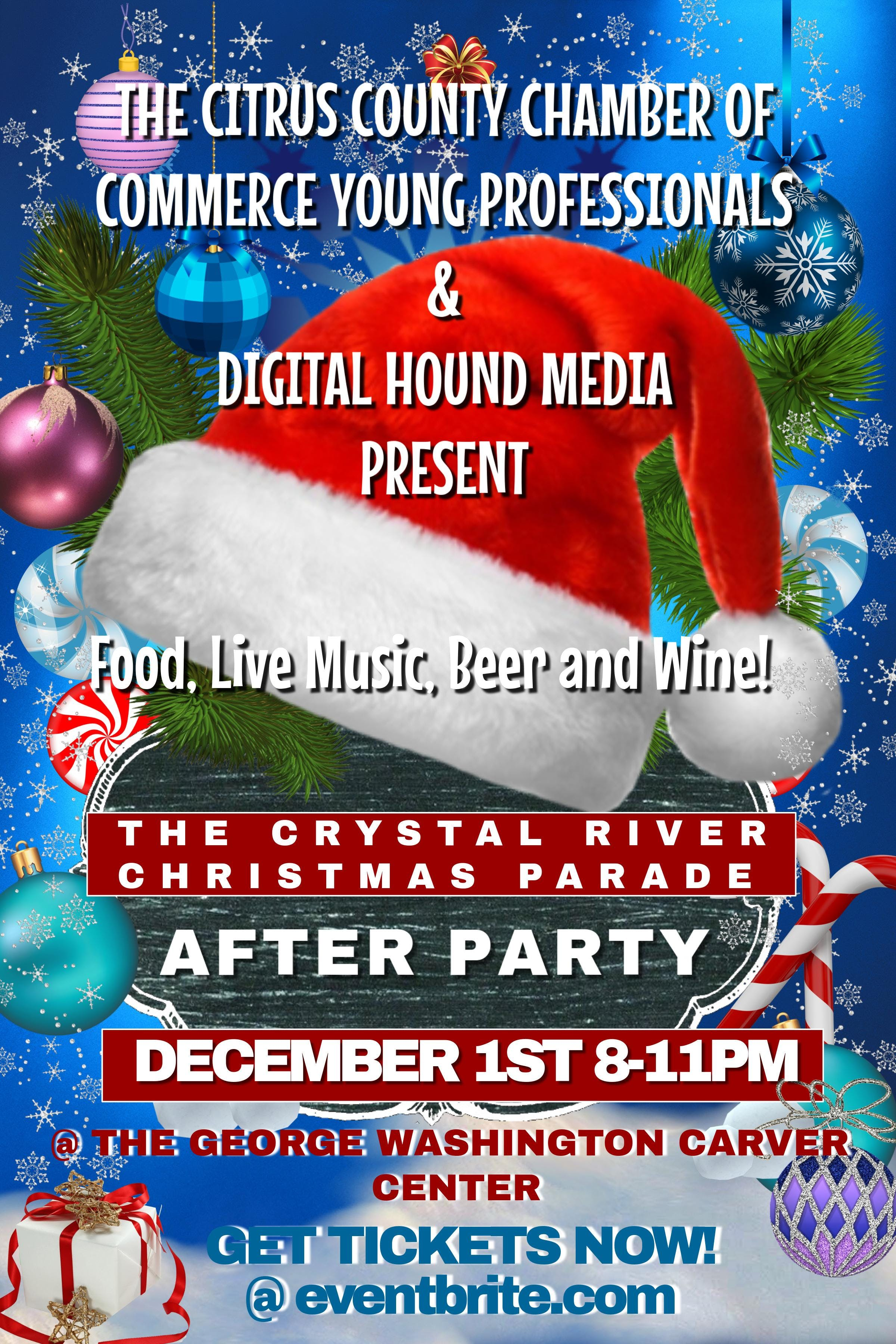Crystal River Parade After Party, North Central Florida FL - Dec 1 ...