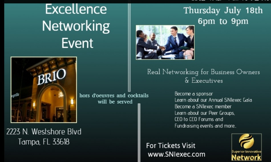 Excellence Networking Event
