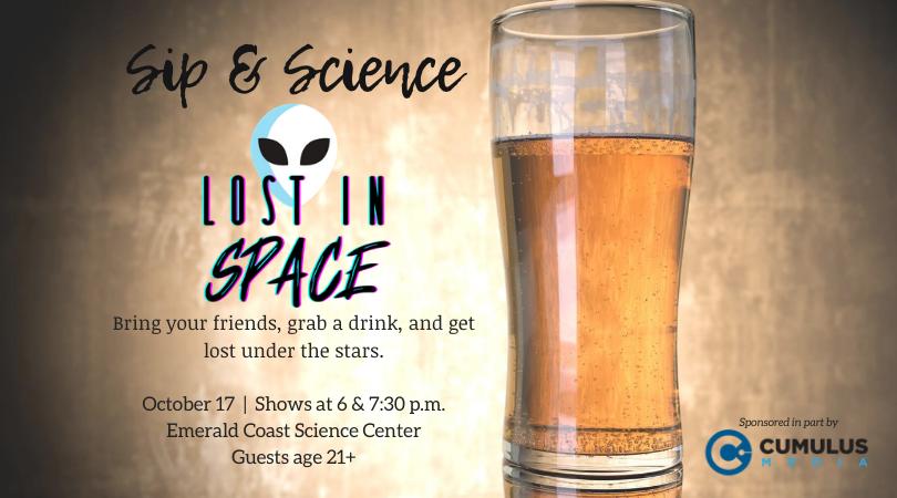 Sip & Science: Lost in Space