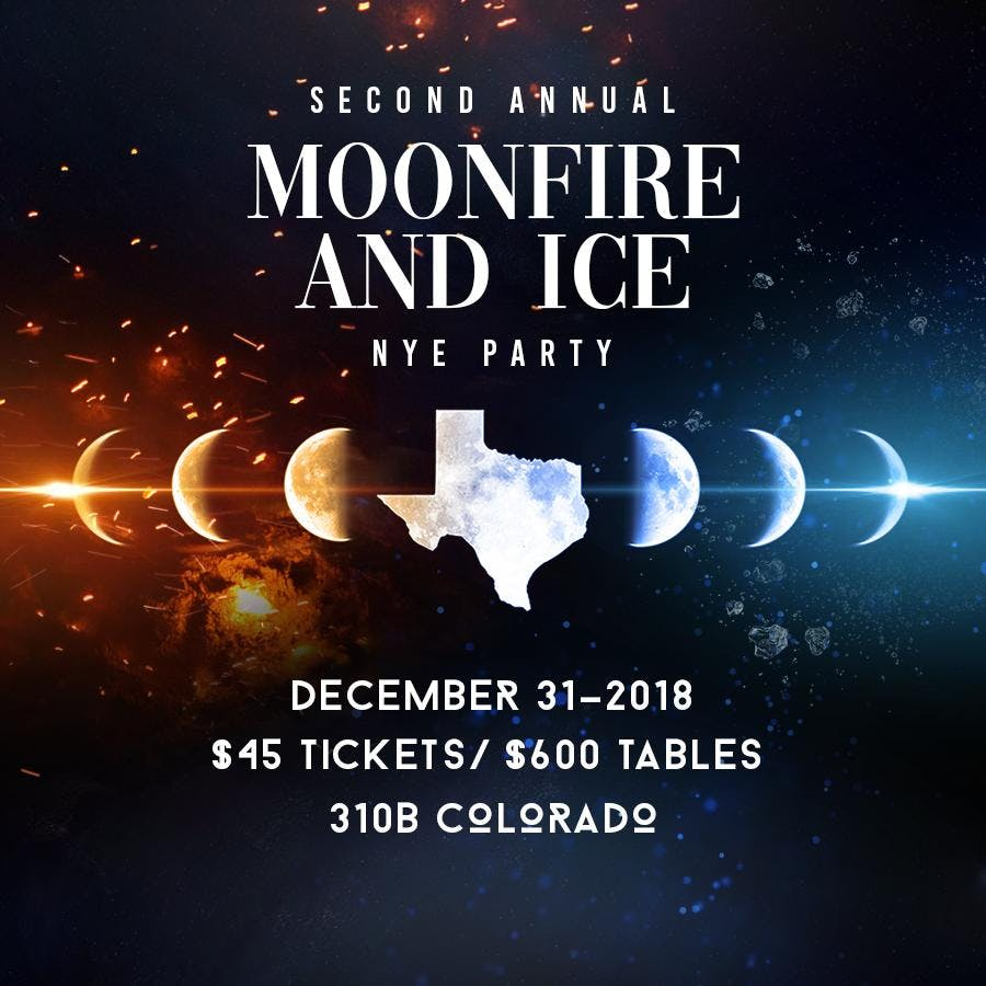 2nd annual FIRE & ICE New Year's Eve Party, Austin TX ...