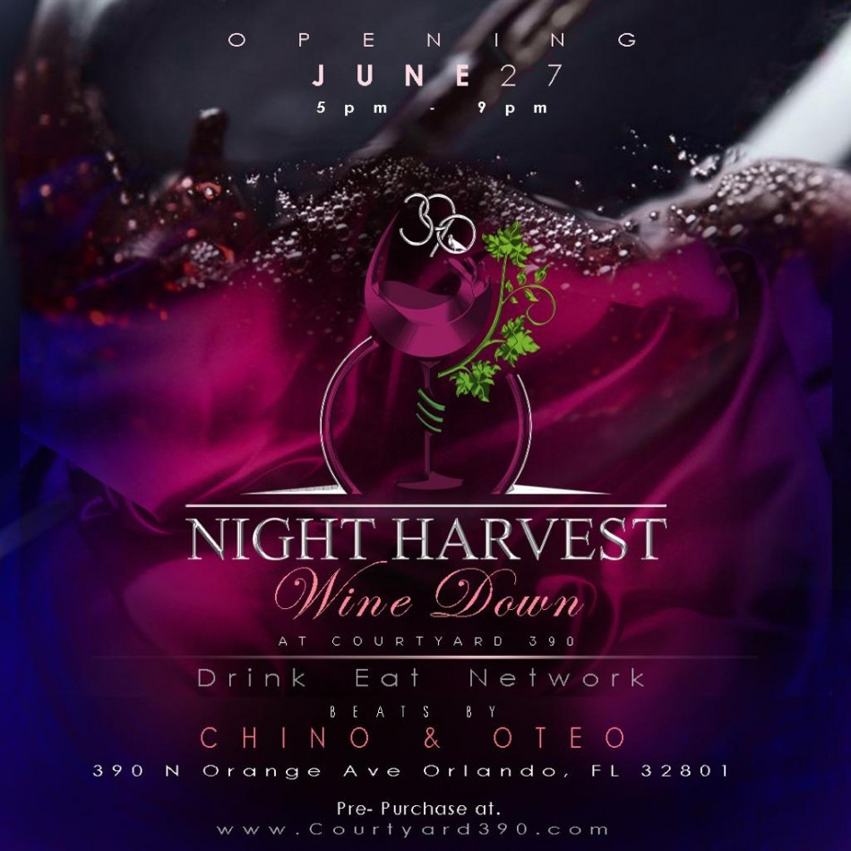 390 NIGHT HARVEST WINEDOWN