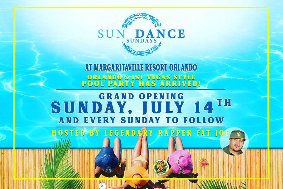 SUNDANCE SUNDAYS POOL PARTY AT MARGARITAVILLE