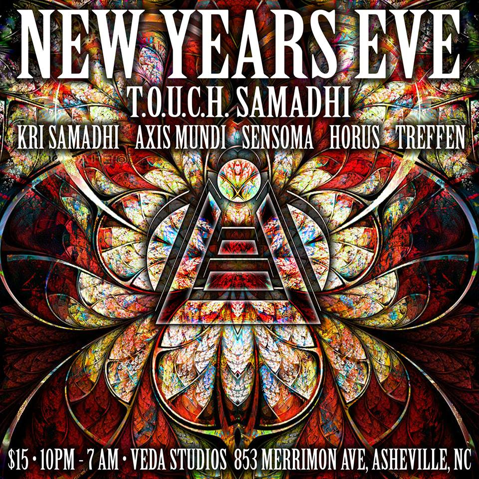 Touch Samadhi New Year's Eve, Asheville NC - Dec 31, 2018 - 10:00 PM