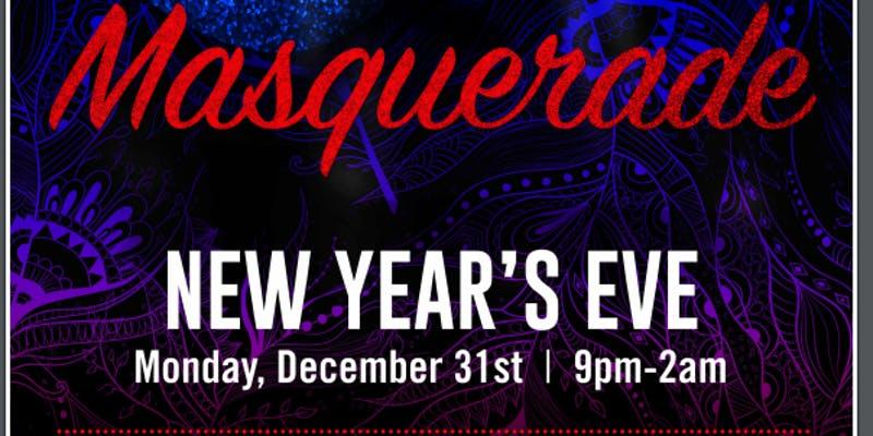2019 New Years Eve Masquerade, Charlotte NC - Dec 31, 2018 - 9:00 PM