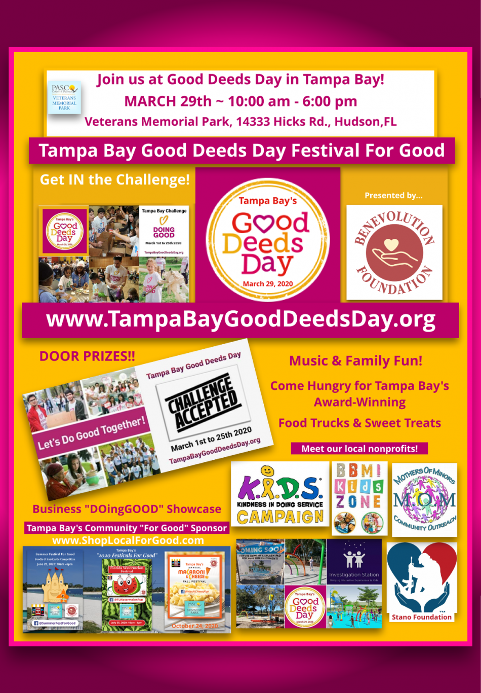 Tampa Bay Good Deeds Day Festival