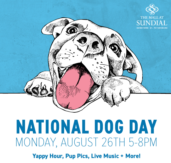 National Dog Day at Sundial St. Pete