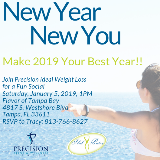 Saturday Social With Precision Ideal Weight Loss Tampa Fl Jan 5