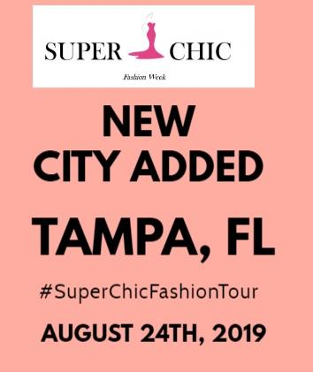 Super Chic Tampa Fashion Week 2019
