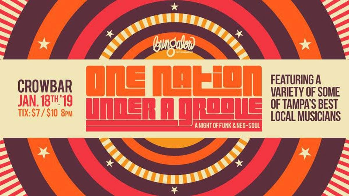 One Nation Under A Groove: A Night of Funk & Neo-Soul, Tampa