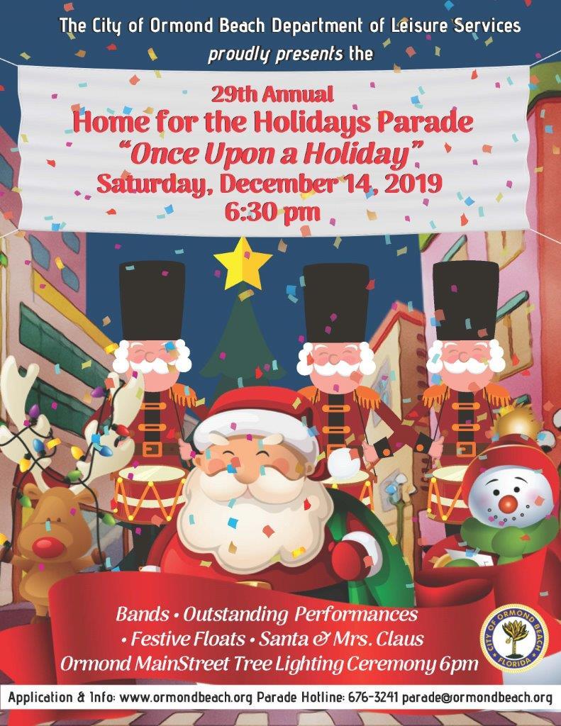 City Of Ormond Beach Christmas Parade 2020 Home for the Holidays Parade, Daytona Beach FL   Dec 14, 2019   6