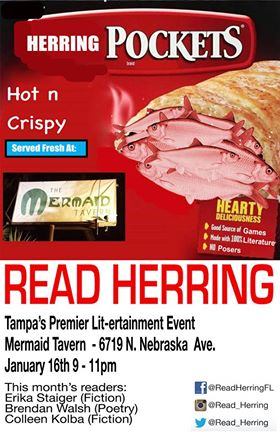January Read Herring at Mermaid Tavern!