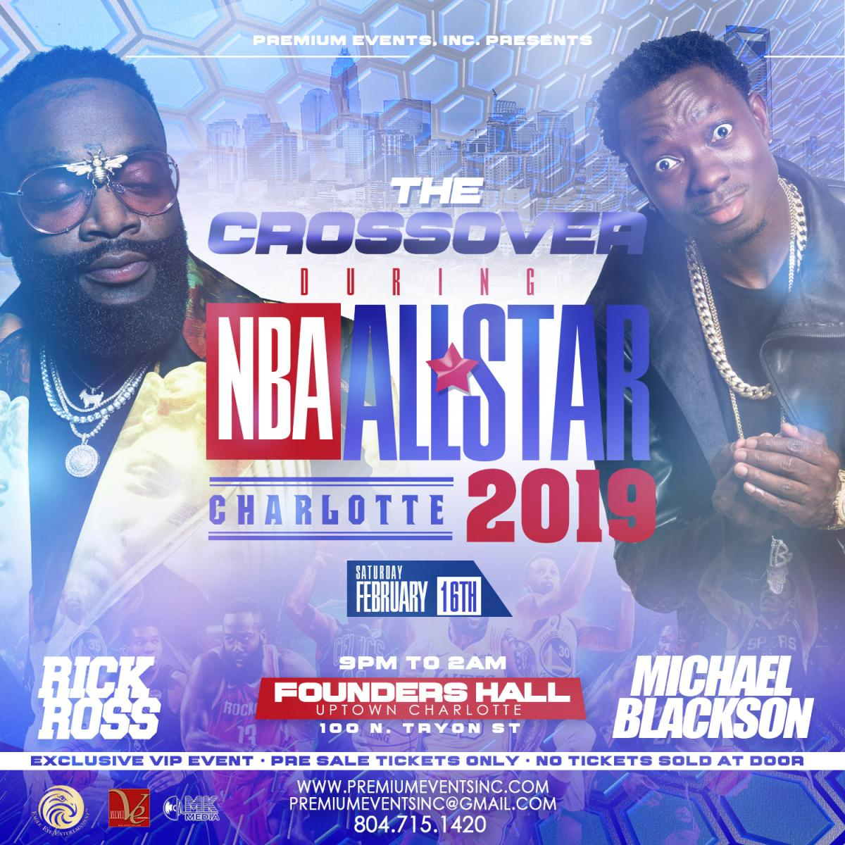 NBA All Star 2019 'The Crossover'