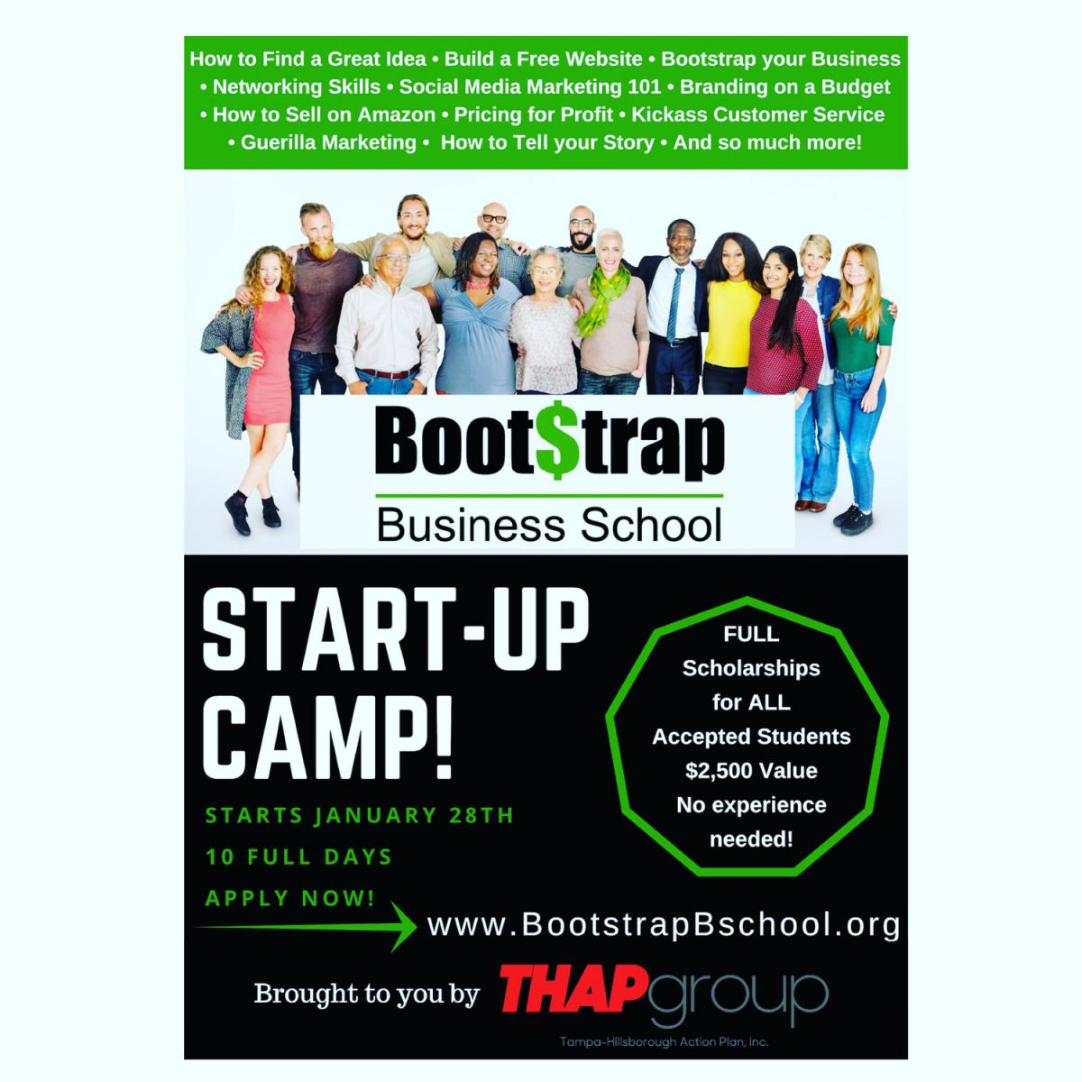 "Bootstrap Business School ""Start-Up Camp"""