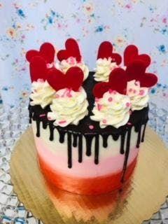 Valentine Cake Decorating Class
