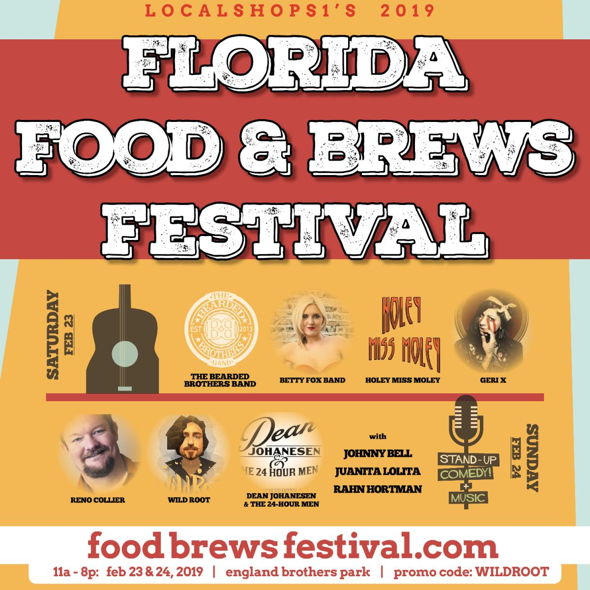 Comedy Showcase at Florida Food and Brews Festival - Day 2