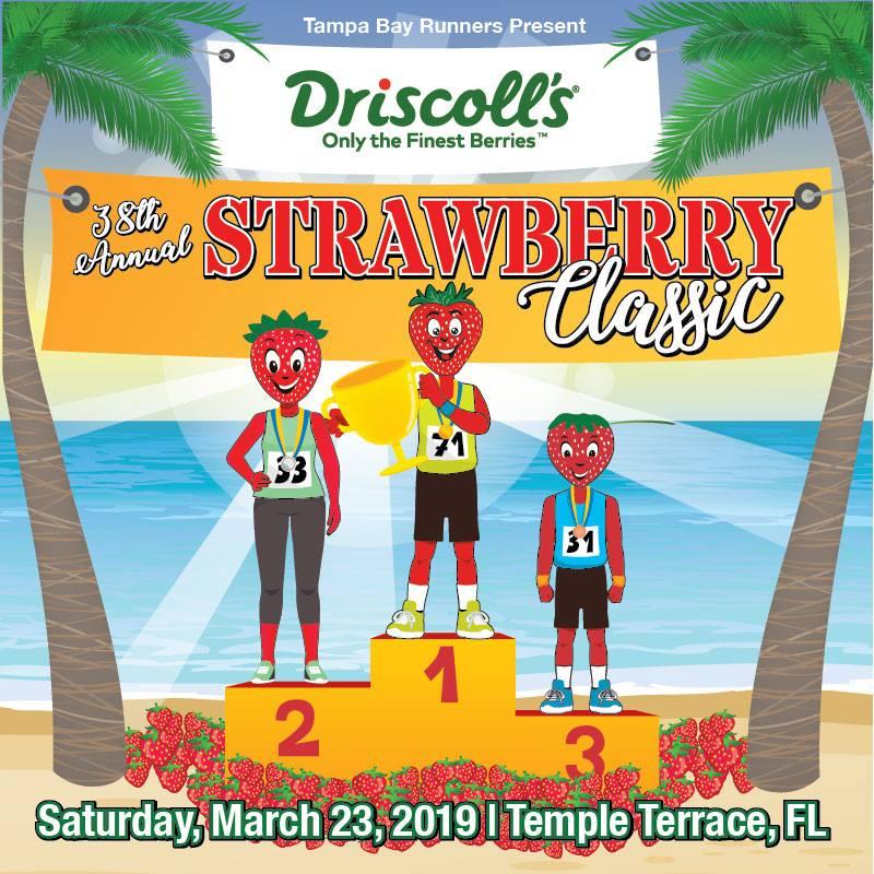 38th Annual Driscoll's Strawberry Classic Race
