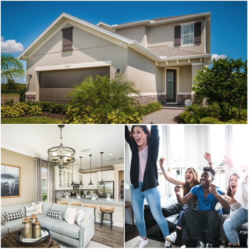 Affinity At Winter Park Home: Taylor Morrison's New Homes Grand Opening At Hawk's Crest