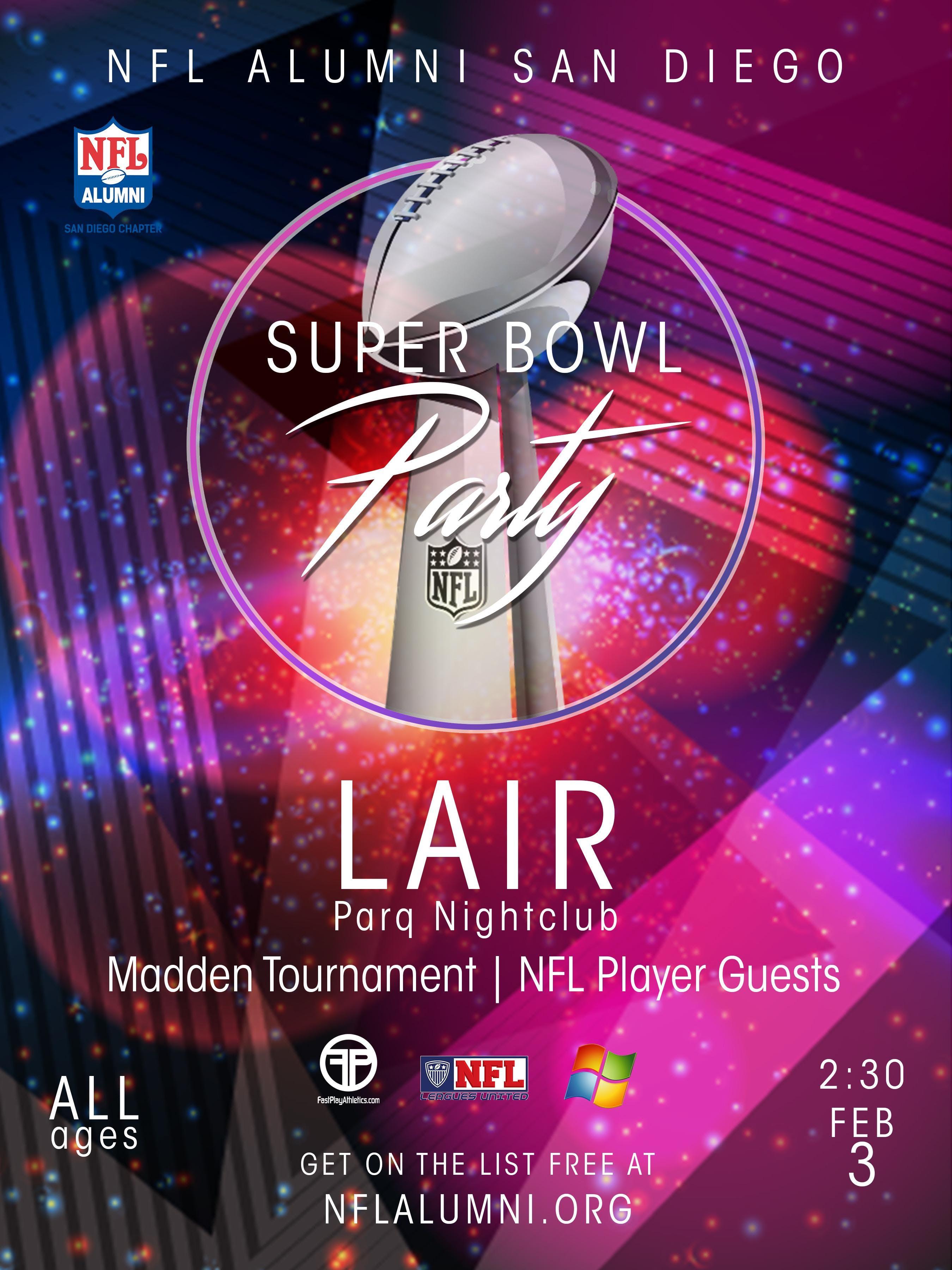 NFL AIumni Super Bowl Party