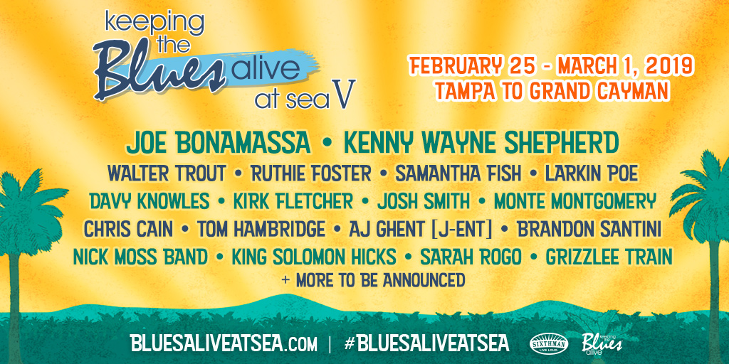 Keeping the Blues Alive Music Festival, Tampa FL - Feb 25, 2019 - 3