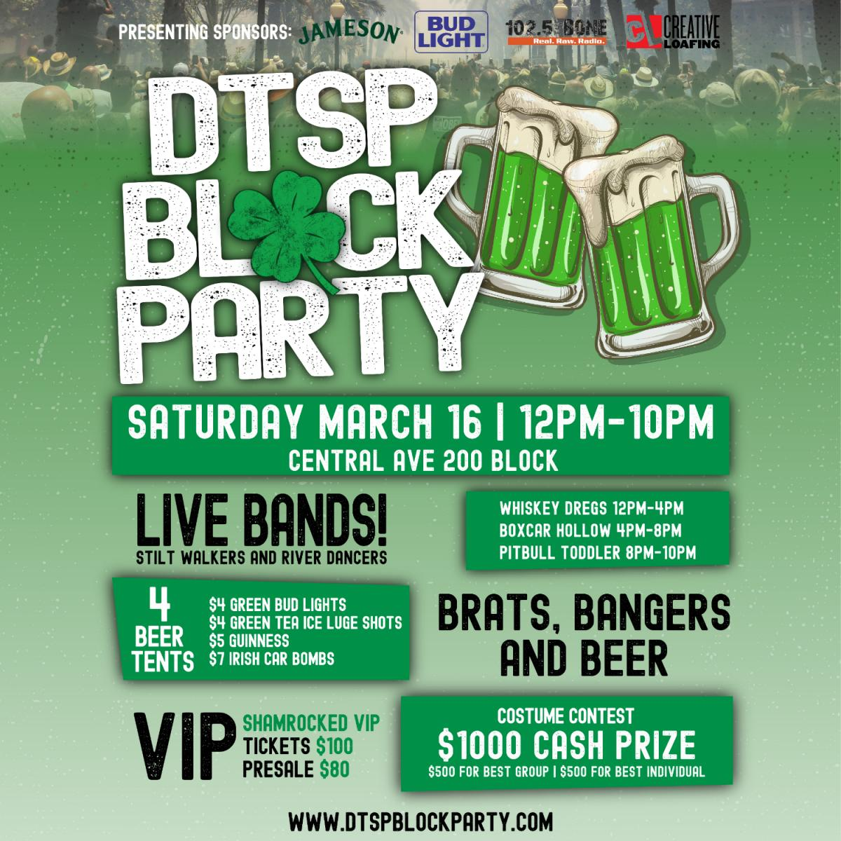 Downtown St. Pete Block Party