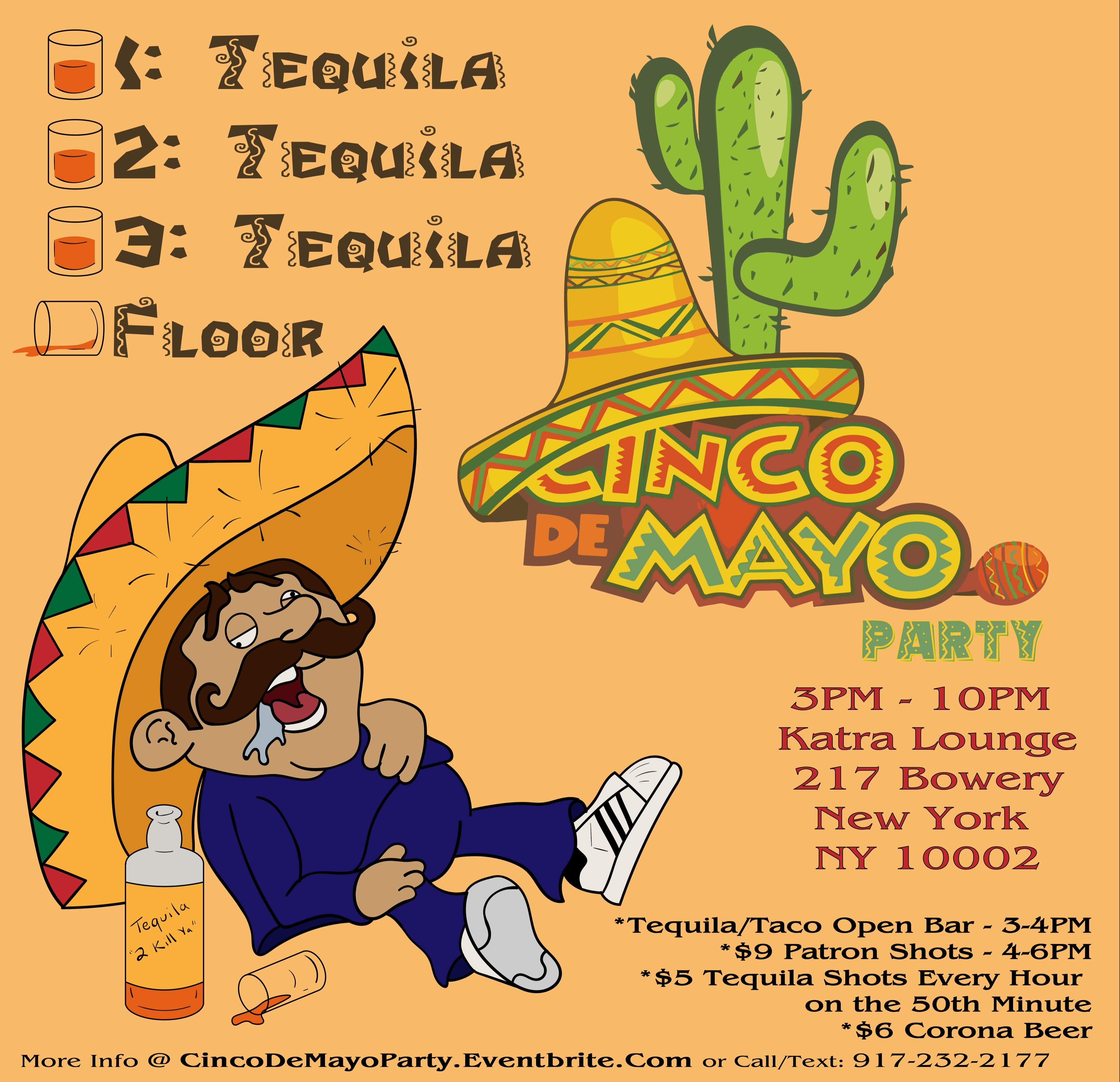 Cinco De Mayo Brunch Party Tequila Taco Open Bar New York City Ny May 5 2019 3 00 Pm