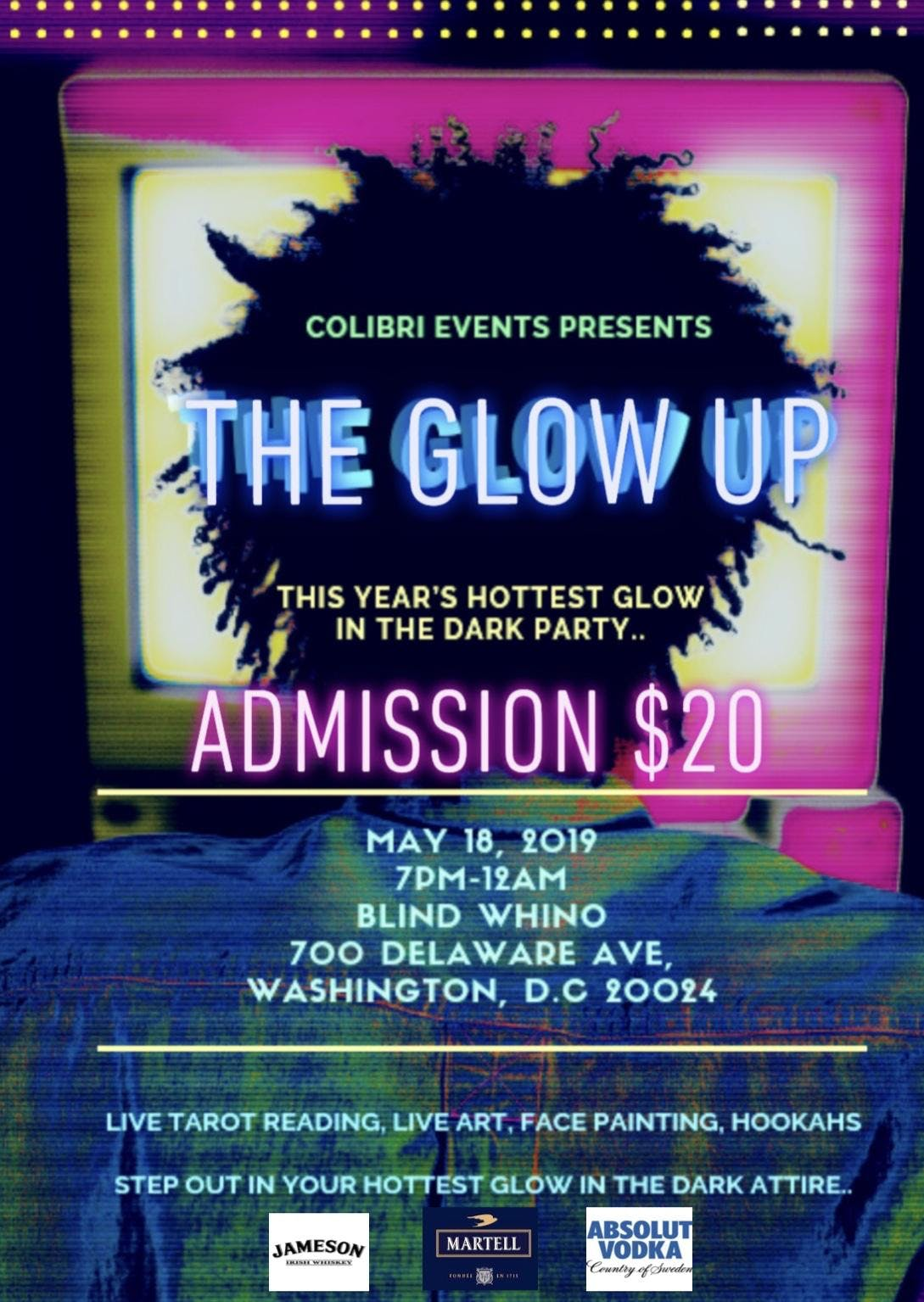 Christmas Events Dc 2019.The Glow Up Washington Dc May 18 2019 7 00 Pm
