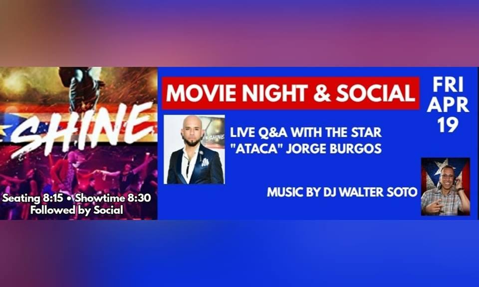 Sazón Tampa Social & Shine Movie 4/19