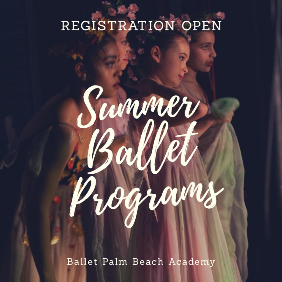 Ballet Summer Intensives at Ballet Palm Beach Academy