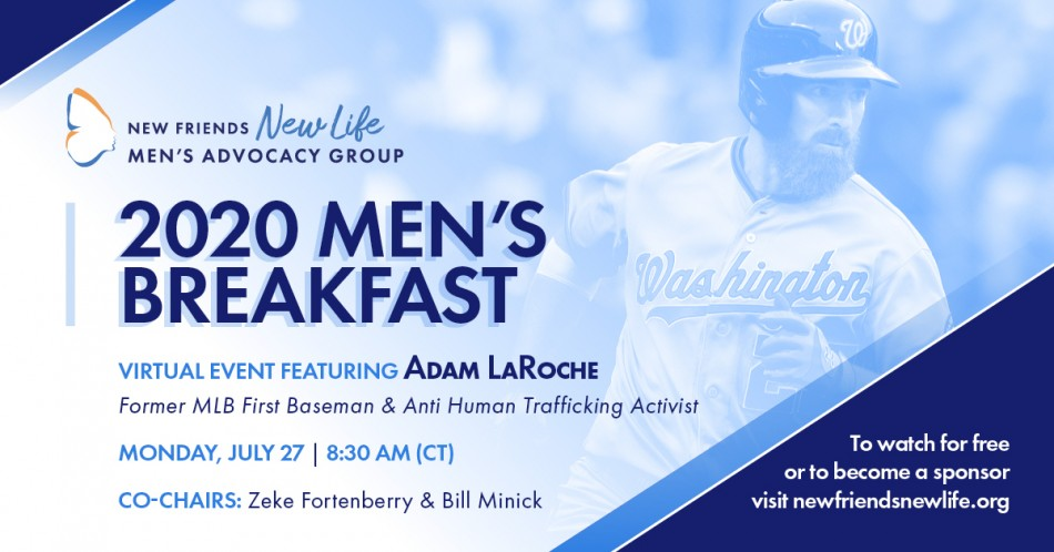New Friends New Life 2020 Men's Breakfast