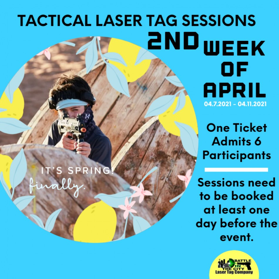 Laser Tag Spring Sessions