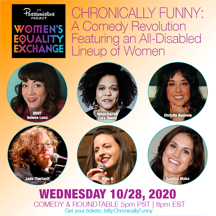 Chronically Funny: A Comedy Revolution Featuring an All-Disabled Lineup of Women