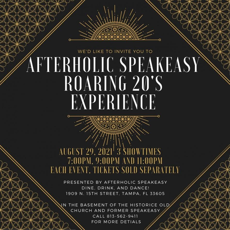 Afterholic Speakeasy Roaring 20's Experience