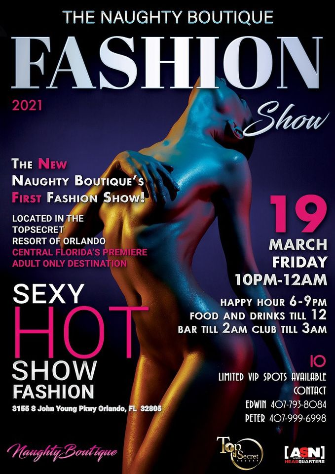 1st Annual Spring Naughty Runway Fashion Show
