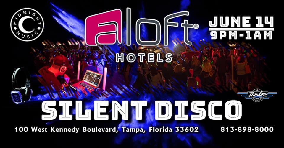 June '19 Silent Disco at Aloft