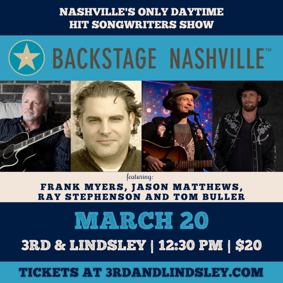 Backstage Nashville at 3rd & Lindsley