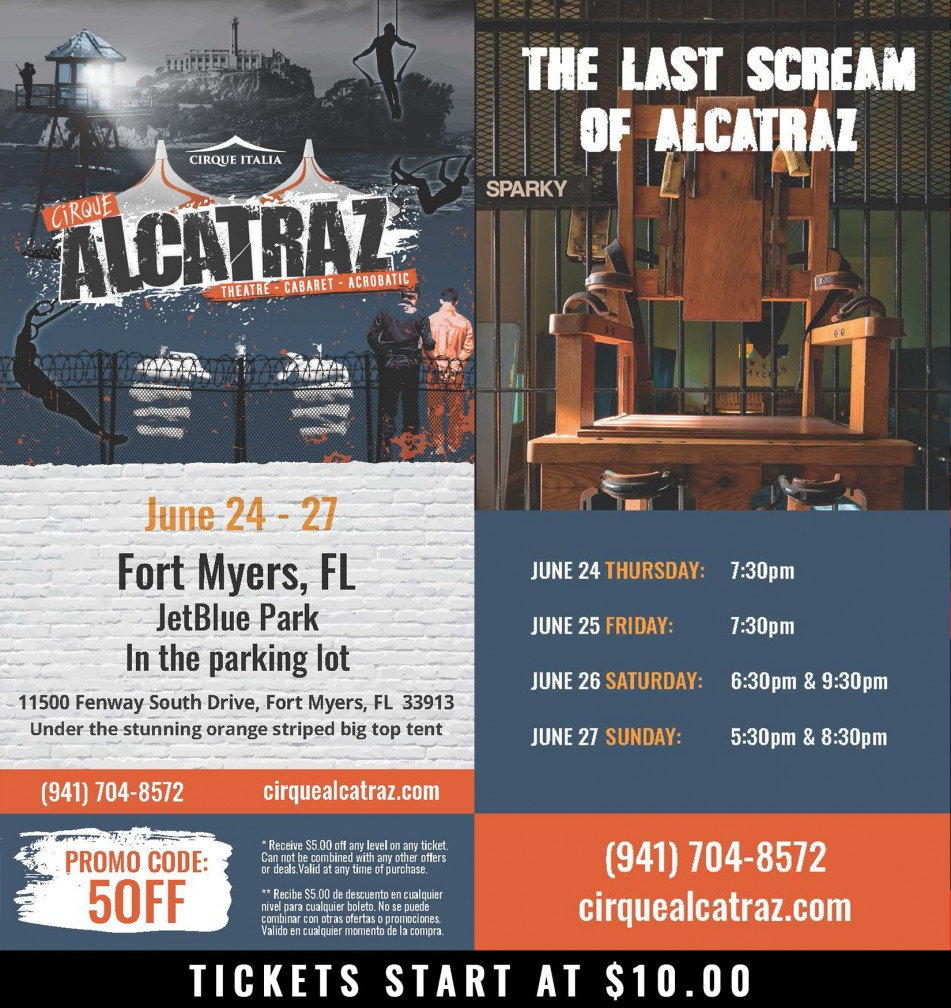 Cirque Alcatraz Fort Myers, FL
