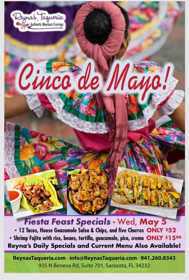 Reyna's Taqueria Cinco de Mayo