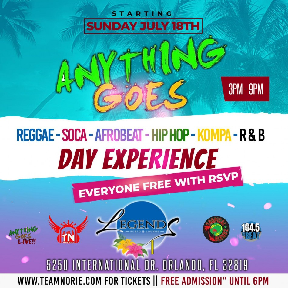 Anything Goes Day Party