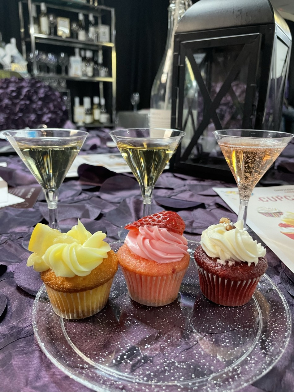 Cupcakes, Quiche and Wine Pairing