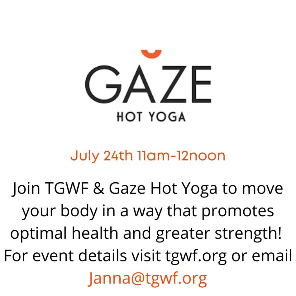 Tgwf & Gaze Hot Yoga