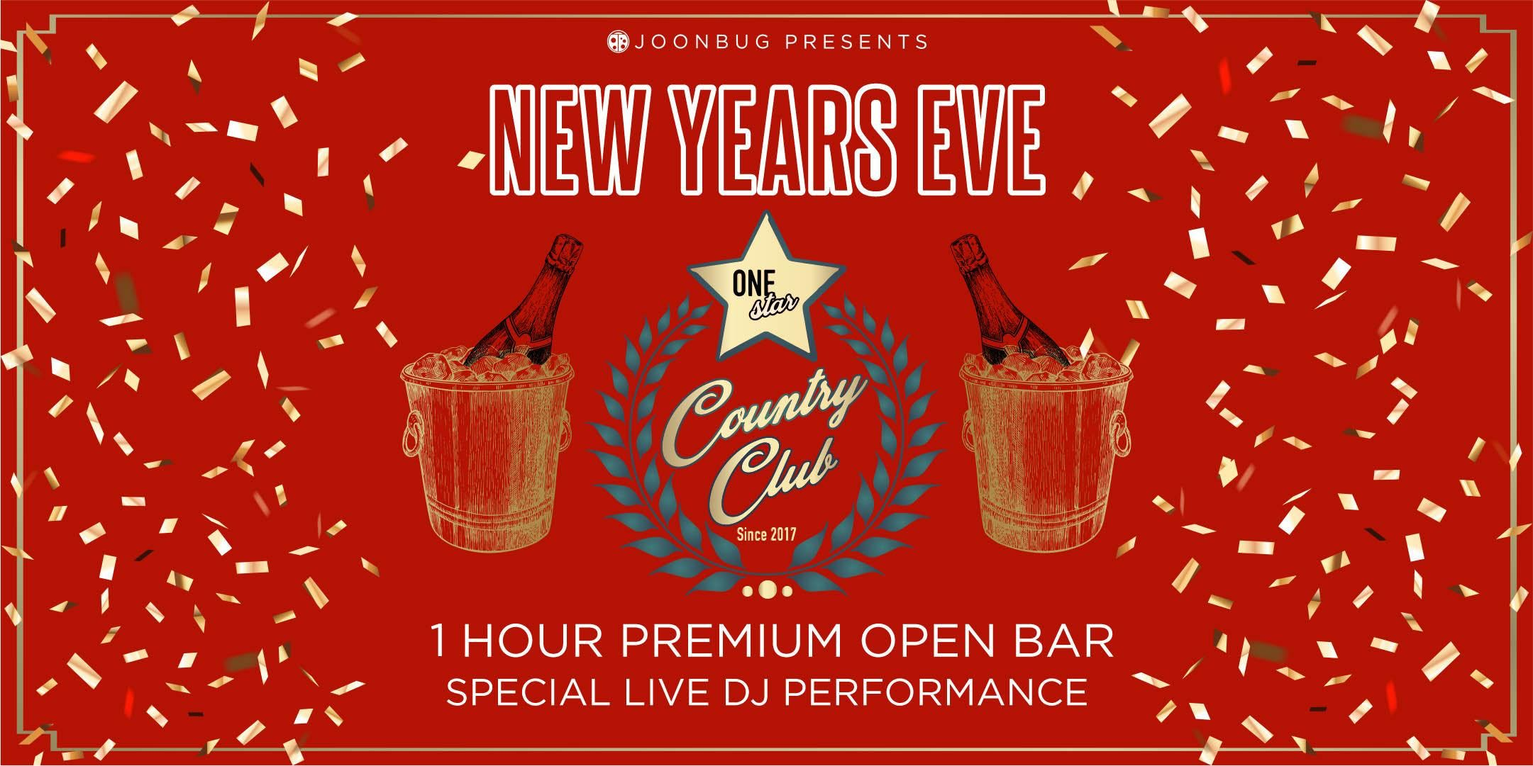 Lindypromo.com Presents One Star Country Club New Years ...