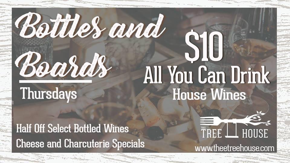 Bottles & Boards Thursdays
