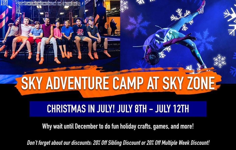 Christmas In July Color Street.Sky Adventure Camp Christmas In July Tampa Fl Jul 8