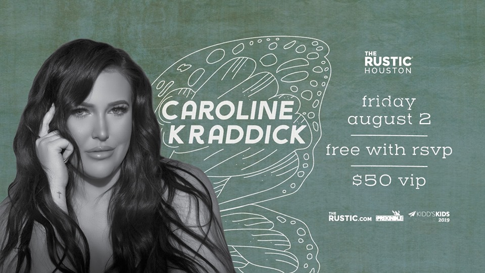Caroline Kraddick | The Rustic Houston, Houston TX - Aug 2