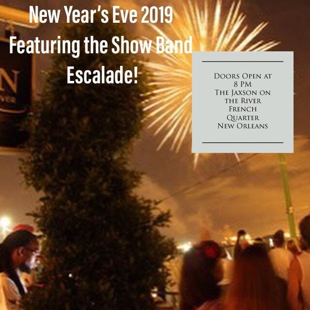 New Year's Eve at The Jaxson, New Orleans LA - Dec 31 ...
